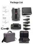 Black friday drone MJX Bugs 4W - 5G Wifi FPV 2K Camera - Brushless GPS - opvouwbaar + opberg reis koffer