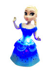 Snow Girl prinses pop |danst en zingt -blauw