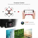 Syma X56W Drone (opvouwbaar) Folding Wizard - HD FPV live camera