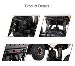 RC 2.4GHz Monster 4WD METAL CRAWLER 1:18  rc auto black