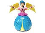 Dansende prinses Angel Girl met muziek en 3D-lightjes -14CM