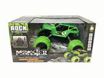 Rc Monster Rock Crawler - 2.4G 4WD Monster Truck Brushed 1:12