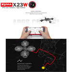 Syma X23W Drone met HD Live 720P camera - Hover mode -quadcopter zwart