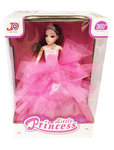 Little Princess - Speelgoed prinsesje pop met lichtjes en muziek (dansen) - blauw