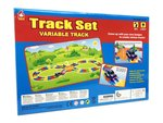 Track set speelgoed auto - 142 stuks - Magic Race baan set