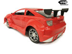 RC Race Model Auto |Red  Emulation Car 1:16 rood -oplaadbaar via usb