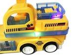 Rc intelligent Truck + RC Graafmachine Truck afstand bestuurbaar - Voordeel pak 2 stuks