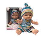 Mini Babypoppen - in 8 verschillende soorten Trendy outfits - 9.5CM