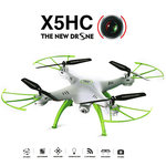 Syma x5HC drone/quadcopter met hd camera +altitude hover functie -wit