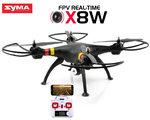 Syma Drone X8W -FPV Live HD camera quadcopter - 2.4Ghz
