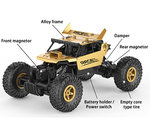 RC monster 2.4GHz Monster 4WD METAL CRAWLER 1:18 |rc auto Gold