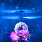 BS Flying Ball crystal ball zwevende disco bal met Led-infraroodsensor - Hand bestuurbaar Vliegende Bal
