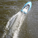 Rc Race Boot H108 - High Speed Boat 2.4GHZ 20KM/H -1:36 bestuurbaar boot