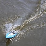 BS Rc Race Boot H108 - High Speed Boat 2.4GHZ 20KM/H -1:36 bestuurbaar boot