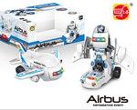 BS Airbus Deformation Transform Robot- vliegtuig en robot 2in1 - met licht en geluid