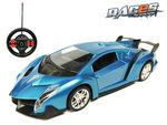 Rc auto | race sportwagen - stuurwiel zender - oplaadbaar auto 1:14