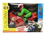 BS Speelgoed racemotor met geluid en lichtjes |Motorcycle Racer -rood
