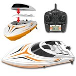 Bs RC Race Boot H105- Water Wizard 2.4GHZ - Skytech SPEED 25KM (36CM)