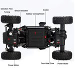 Rc buggy auto/Monster 4WD METAL CRAWLER 1:18 | rc auto