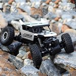 RC auto  2.4GHz Monster 4WD METAL CRAWLER 1:18 | Silver