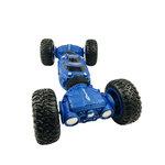 Rc Twist Climbing Car - dubbelzijdig auto met 4WD 2.4GHZ (oplaadbaar) 37CM