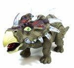 BS Dinosaurus speelgoed - Triceratops - met licht en Dino geluid