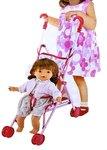 BS Baby Doll Bonnie + poppenwagen en accessoires