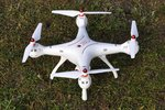 Syma X8SW Drone 2.4GHZ- FPV live HD camera voor Android & IOS - Auto landing en take off