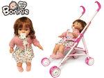 Baby Doll Bonnie met poppenwagen- inclusief accessoires