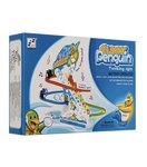 Pinguin race | Funny Penguin glijbaan met lichtjes en muziek 27CM