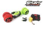 Rc Stunt Twister auto - 360° tweezijdig wilde bewegingen - radiografisch - 2.4GHZ 1:14 car