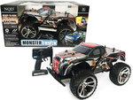 BS Rc Monster Truck Racing SHADOW Car auto 1:10 (45CM) 18KM/U -oplaadbaar