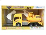 Graafmachine met geluiden - 360º draaibaar - Multifunction Truck 32CM_