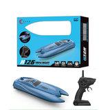 Rc boot 2.4ghz - 10 km/h - afstand bestuurbaar boot tot wel 50M - oplaadbaar_