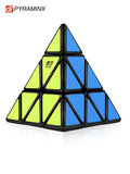 Pyraminx kubus - Qiyi cube breinbreker - kubus in de vorm van piramide - 9x9x9cm_