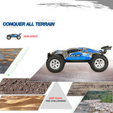 The Brave Short Course Truck car 1:12 - 2,4 GHz 4WD Rc Auto - Brushless motor - 30KM/H _