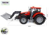 Tractor met voorlader - farmer 1:32 - werkvoertuig boerderij landbouw speelgoed- 1:32 26CM_