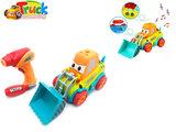 RC DIY Graafmachine truck speelgoed bouwset 24st + schroefboormachine 2in1 (33cm)_
