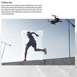 MJX bugs 7 Drone/quadcopter - 4K camera - Brushless motor - GPS - opvouwbaar - Extra accu + Opbergtas_