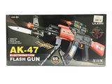 Speelgoed geweer | Flashing AK-47 GUN 69CM met geluid en lichtjes_