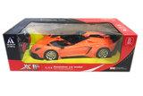 Rc Sport Race auto -radiografisch speelgoed auto - oplaadbaar | 1:14 Oranje_