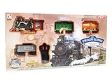 Rc Stoomtrein met echte rook en CHoo CHoo trein geluid incl. Rail Baan 103x78CM - afstand bestuurbaar - locomotief_