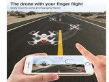 Syma X22W drone - FPV live Camera en app control -Android en IOS _