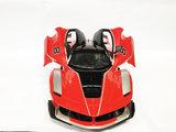Rc Auto - Race Car - Sportwagen 42.5CM - deuren Open & Dicht -Z-Car rood_