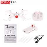 Syma X23 Drone  -one key take off/landing functie - Hover mode - drone wit _