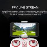 Quadcopter Syma X8SW-D Drone met HD draaibaar live camera + hover functie_