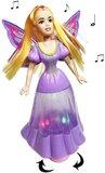 Little Princess Blauw + Dancing Butterfly princess   | incl. Batterij_