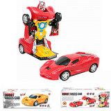 Transform - Robot Race car - 2in1 robot en auto_