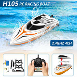 RC Race Boot H105- Water Wizard 2.4GHZ - Skytech SPEED 25KM (36CM)_
