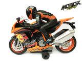 BS Rc Motorfiets - Radiografisch bestuurbaar motorfiets 2,4 GHz _
